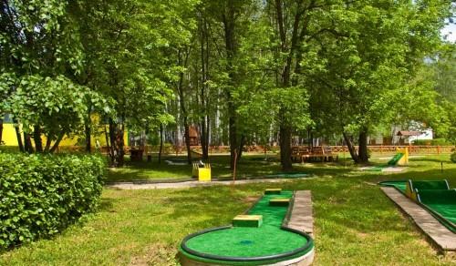 Организация мини-гольф площадки